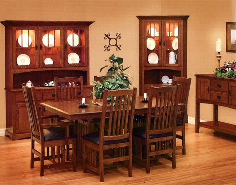 style dining room your guide to mission style dining room furniture