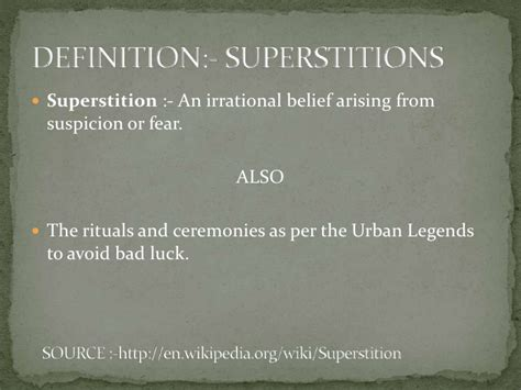 Superstitions superstitions in indian culture