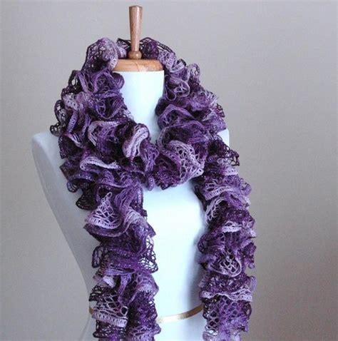 knit ruffle scarf 502 bad gateway