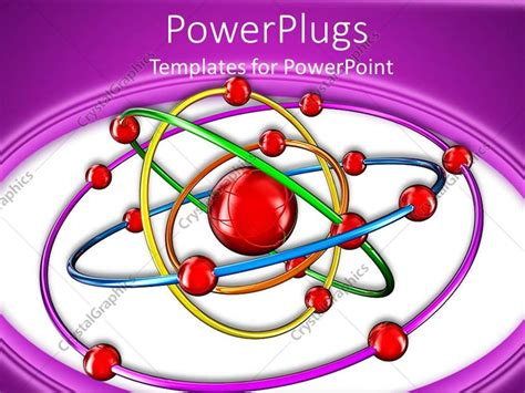 Protons In Nucleus by Powerpoint Template Nucleus Protons And Electrons Image