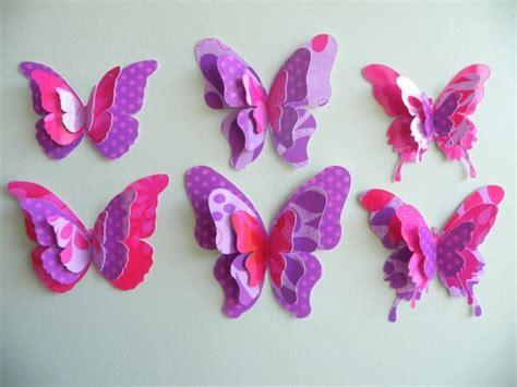 paper craft butterflies 150 verbl 252 ffende bastelideen aus papier archzine net
