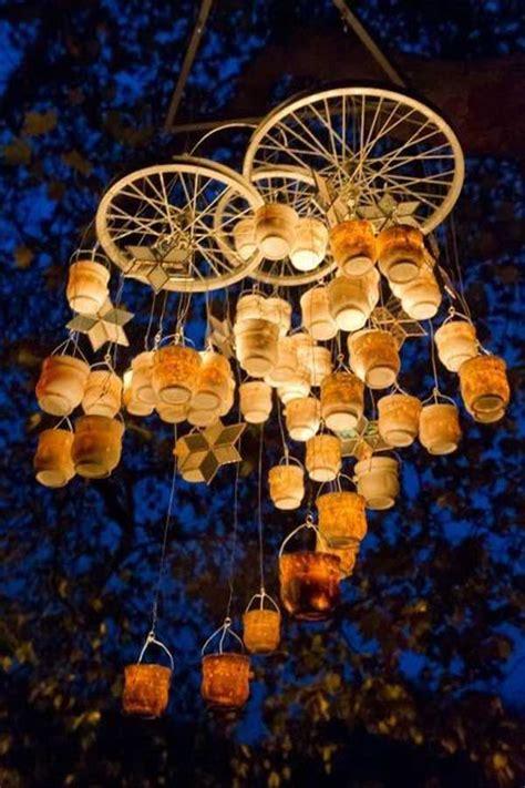 21 Awesomely Creative DIY Crafts Re purposing Bike Rims
