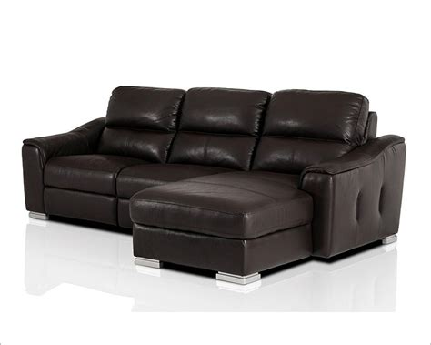 modern leather recliner sofa modern leather recliner sectional sofa 44l5987