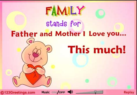 card for your happy parents day 2015 greeting card ecard cliparts