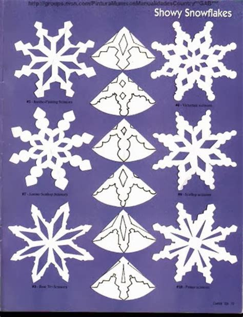 paper snowflake crafts paper snowflakes patterns the idea king
