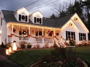 White Living Room Ideas beautiful front porch christmas decoration using large