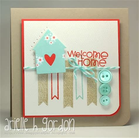 ideas for cards at home welcome home card card ideas