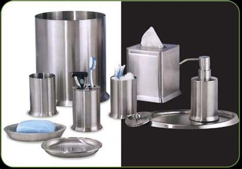 stainless steel bathroom accessories sets nu steel newport 8 bathroom accessories set brushed
