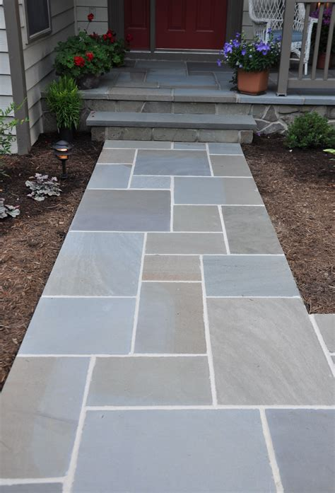 patio walkway designs awesome bluestone pavers for pathway in patio design ideas