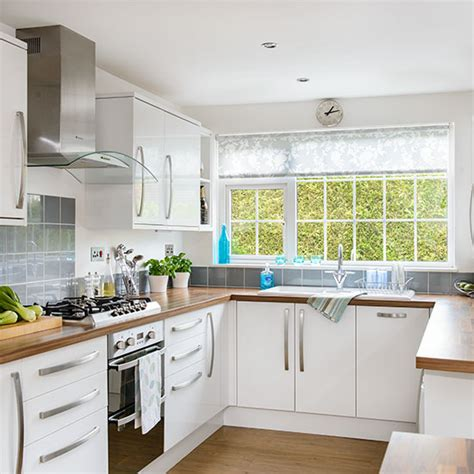 kitchen design u shape white u shaped kitchen decorating ideal home