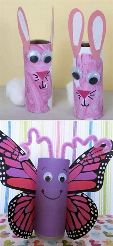 recycle toilet paper rolls crafts toilet paper roll crafts for recycled things