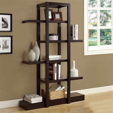 bloombety decorative shelving units with window glass