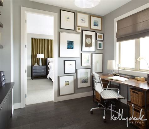 paint colors for office in the home home office paint color with wood floor and desk