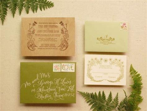 custom rubber sts for wedding invitations diy tutorial rubber st wood veneer invitation suite
