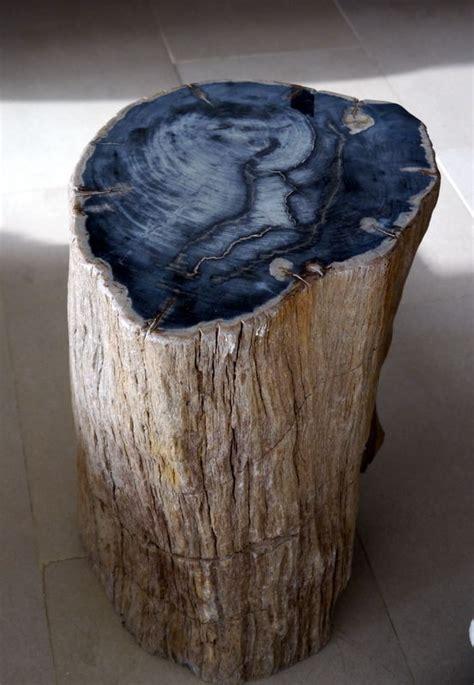 petrified wood petrified wood table furniture log end