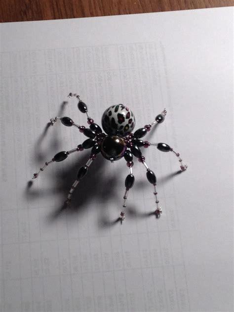 beaded spider spider bead animals