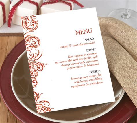 how to make menu card affordable menu cards now available on s