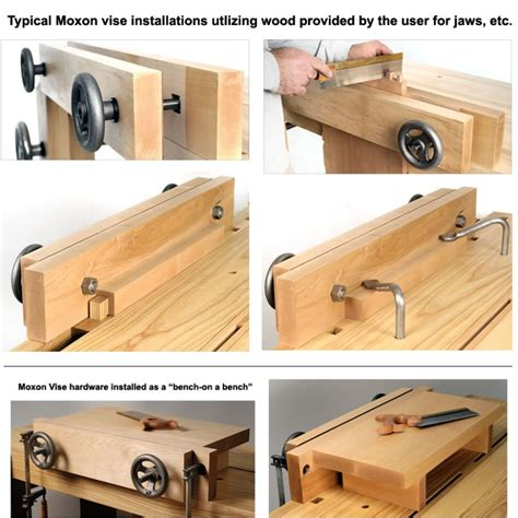 diy woodworking vise benchcrafted moxon vise hardware