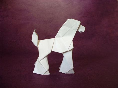 origami poodle origami dogs page 5 of 8 gilad s origami page