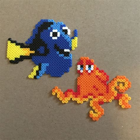 mini perler free shipping finding dory mini perler by lidiasart