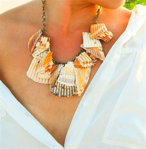 how to make shell jewelry how to make your own seashell jewelry 9 diy shellicious