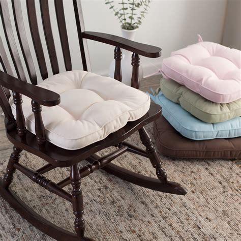 rocking chair cushion nursery deauville 18 x 19 tufted nursery rocker cushion rocking