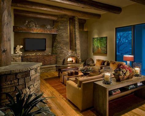 rustic living room living room rustic modern house