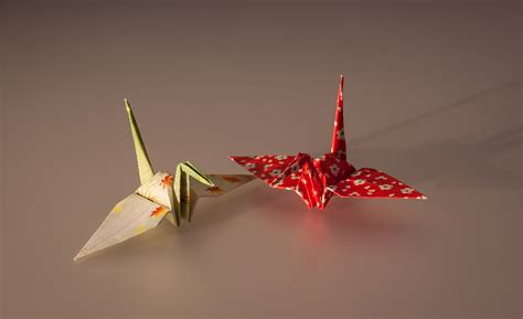origami wiki file cranes made by origami paper jpg