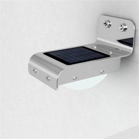 solar powered led lights solar power 16 led security l motion sensor light
