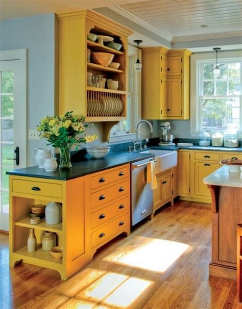best yellow paint color for kitchen cabinets 17 best ideas about yellow kitchen walls on