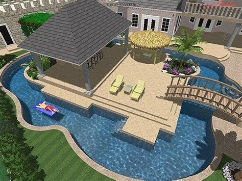 lazy river pools for your backyard lazy river for your backyard swimming pools