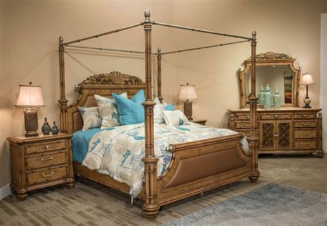 aico bedroom furniture 4 aico excursions canopy bedroom set