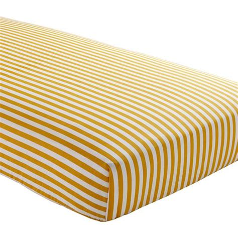 fitted baby crib sheets baby sheets yellow striped fitted crib sheet the land