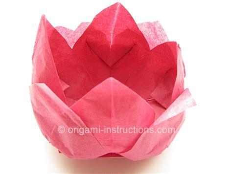 napkin folding origami 10 best images of lotus flower napkin fold napkin flower