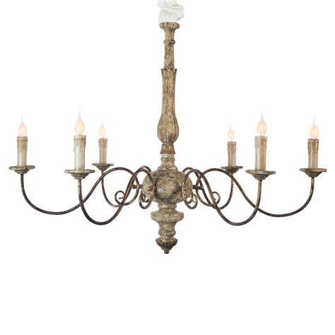 country style chandelier avignon country rustic gold iron scroll chandelier