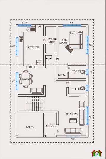 3 bedroom house plans in kerala two floor kerala style house plan with 3 bedrooms kerala