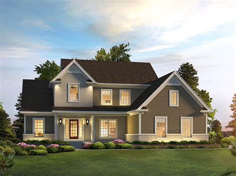 traditional farmhouse plans traditional home plan 121d 0037 house plans and more