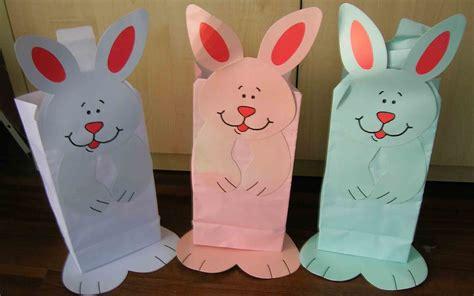 paper bag bunny craft china bunny paper bag china paper bag