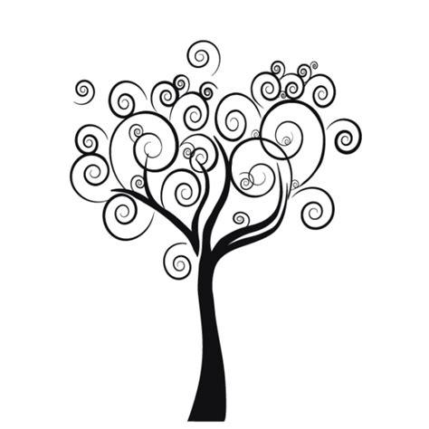 Bird Tree Wall Sticker tree wall decal floral decals spiral tree