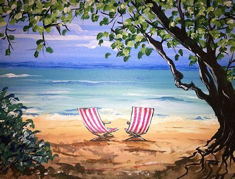 paint nite island calendar paint nite hawaiian bliss