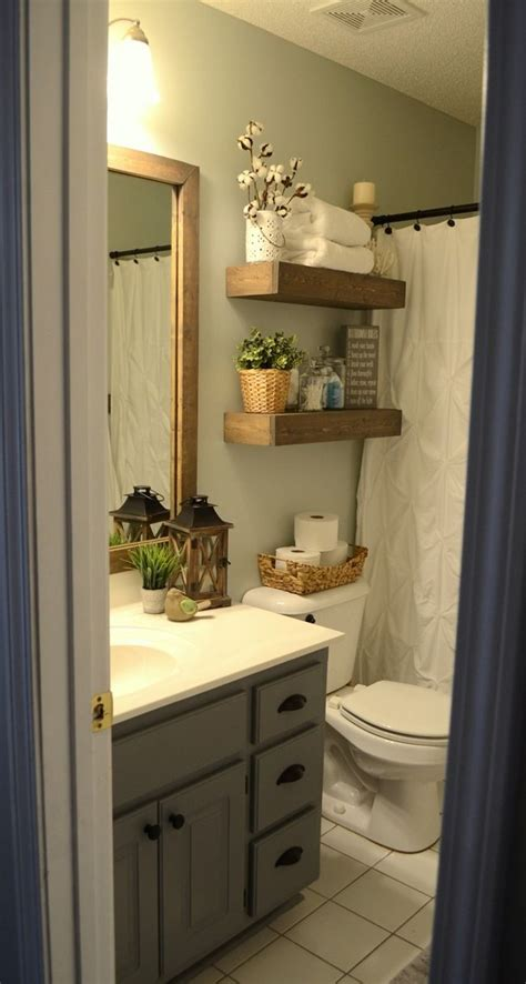 Bathroom Cabinet Makeover Ideas by Modern Farmhouse Inspired Bathroom Makeover One Room One
