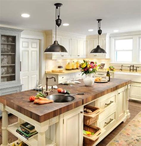 island in the kitchen farm house lighting interior design and ideas theydesign net theydesign net
