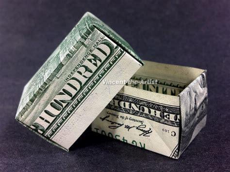 hundred dollar bill origami money origami gift box made w 2 100 dollar bill by