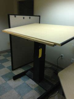 mayline futur matic drafting table classroom tables with electrical outlets on popscreen