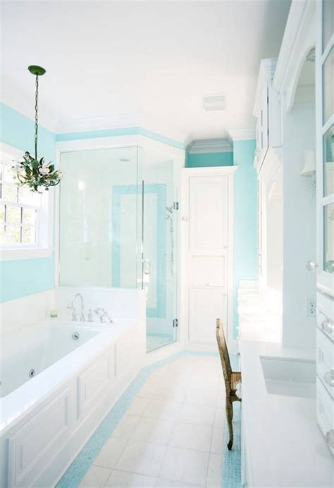 Spa Blue Bathroom by Turquoise Bathroom House Of Turquoise