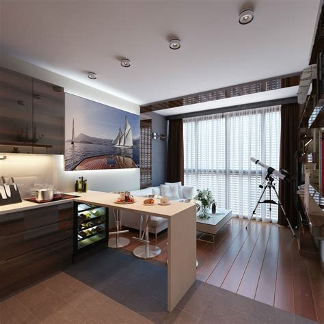 designs for small apartments 3 distinctly themed apartments 800 square with