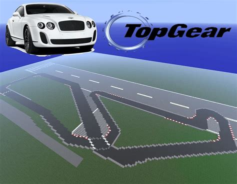 Where Is The Top Gear Track by Top Gear Test Track Use With Vehicle Mod Minecraft Project