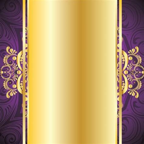 Car Wallpapers Free Psd Files Golden by Golden With Purple Decorative Background Vector 01 Free