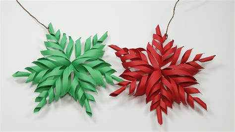 paper snowflake decorations 3d snowflake diy tutorial how to make 3d paper