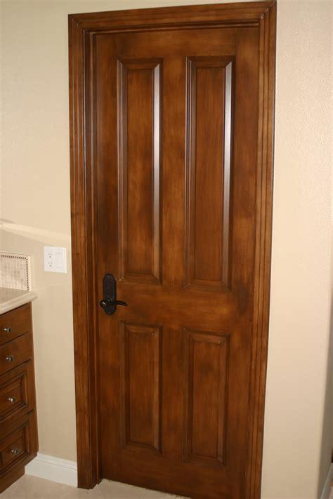 wood door faux doors